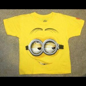Despicable Me Minion T Shirt Youth Sz XS